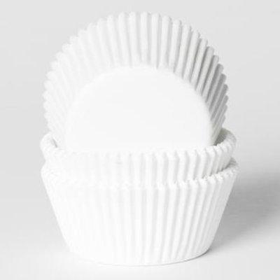 House Of Marie Baking Cases -MINI WHITE -Μίνι Θήκες Ψησίματος για Cupcakes -Λευκές 500 τεμ
