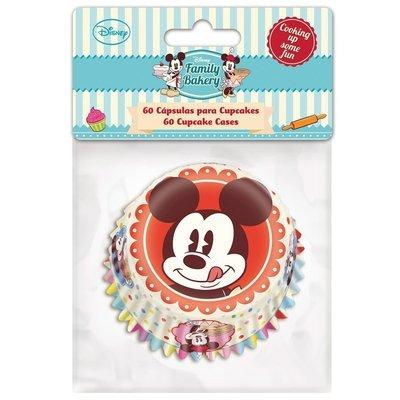 Themed Baking Cases -Mickey Mouse. Pack of 60 θήκες ψησίματος Μίκι Μάους 5x3.5εκ