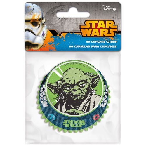 Themed Baking Cases -Star Wars. Pack of 60 θήκες ψησίματος πόλεμος των άστρων 5x3.5εκ