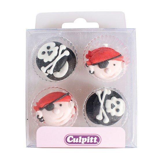 Culpitt Sugar Pipings Pirates 12 piece