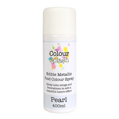 Colour Splash SPRAY -PEARL 400ml Βρώσιμο Σπρέϊ με Χρώμα -Περλέ