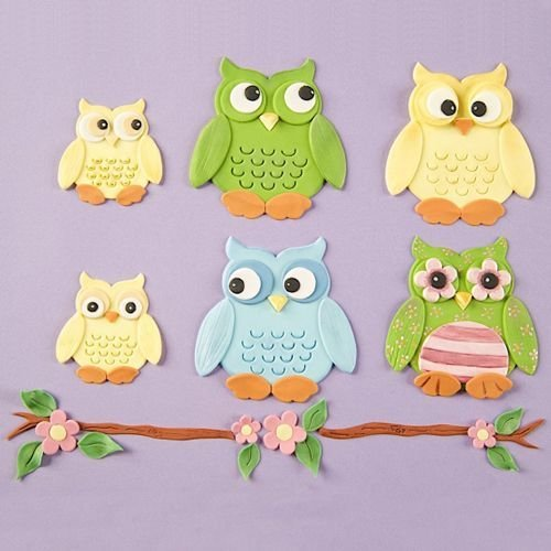 Patchwork -Owl Cutter Set
