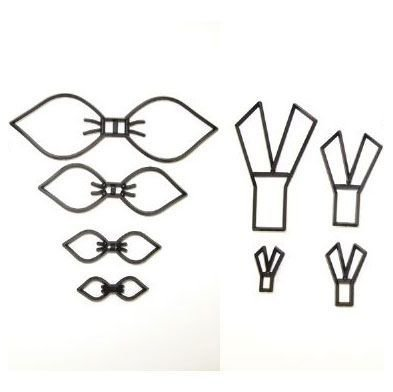 Patchwork Cutter Make a Bow set of 4