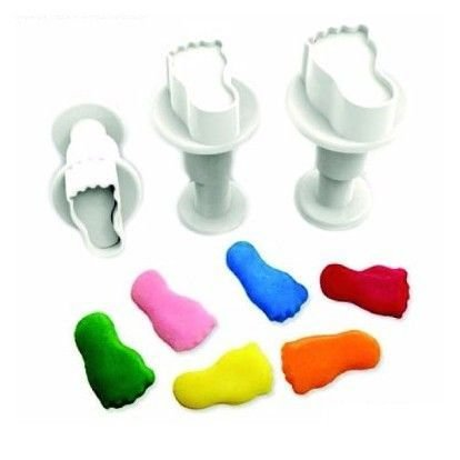 Plunger Cutter MINI FEET Set of 3