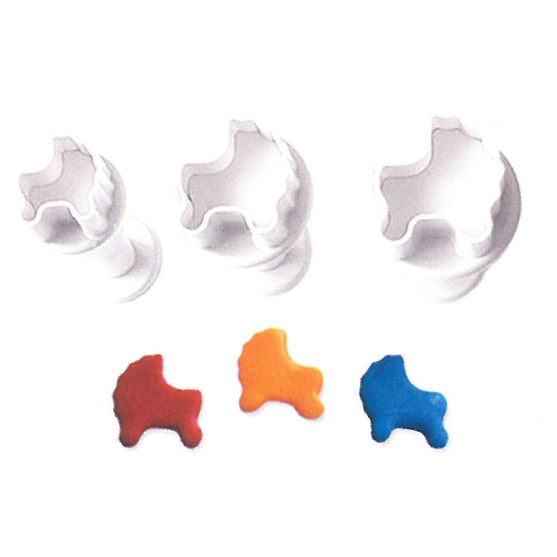 Plunger Cutter MINI STROLLER Set of 3
