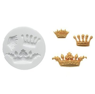 Silikomart -SUGARFLEX MOULD -CROWNS - Καλούπι στέμμα 5.8x2.3εκ