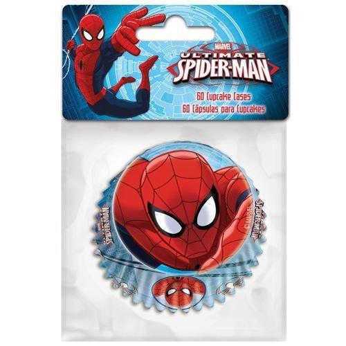 Themed Baking Cases -Spiderman. Pack of 60 θήκες ψησίματος Σπάϊντερμαν 5x3.5εκ ∞