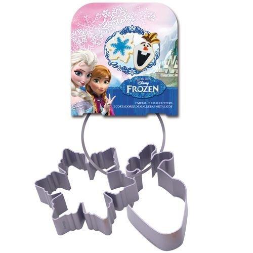 Cookie Cutter -Set of 2 -FROZEN -Olaf & Snowflake -Κουπάτ Ντίσνεϊ Φρόζεν -Όλαφ & Χιονονιφάδα 2 τεμ.