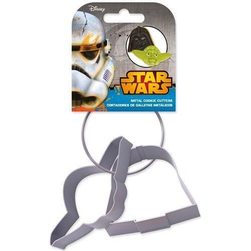 Cookie Cutter -Set of 2 -STAR WARS -Yoda & Darth Vader Set of 2 -Κουπάτ Σταρ Γουόρζ Γιόντα & Νταρθ Βέϊντερ 2 τεμ