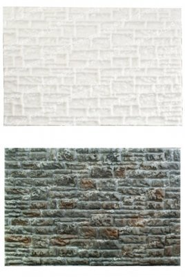 FPC Silicone Texture Mat -STONE WALL -Καλούπι Πέτρινο Τοίχος
