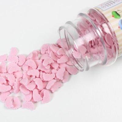 FunCakes Sprinkles -BABY FEET -PINK -Κονφετί Ροζ Μωρουδίστικα Ποδαράκια 55γρ