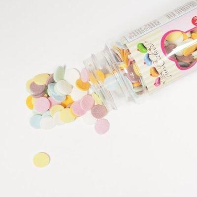 FunCakes Confetti Sprinkles -XL PASTEL -Κονφετί XL Παστέλ 55γρ