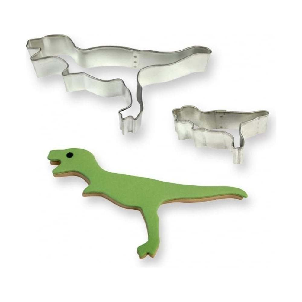 PME Cookie Cutters -Set of 2 -DINOSAURS -T-Rex -Κουπάτ Δεινόσαυρο 2 τεμ