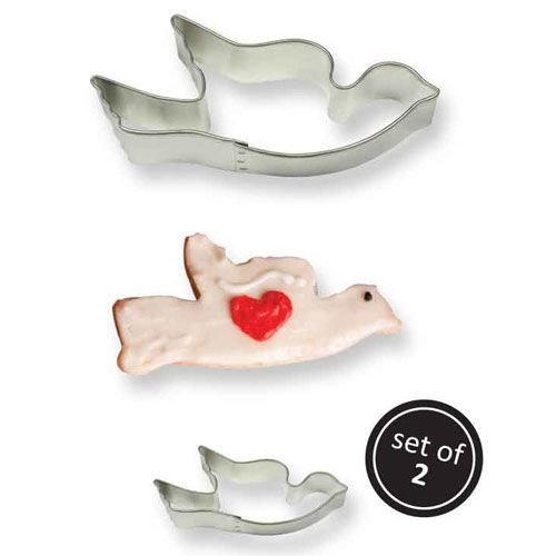 PME Set of 2 Cookie Cutters -Dove