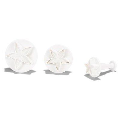 Patisse - Plunger Cutter Calyx set of 3 - Κουπάτ Φύλλα (Κάλυκας/Περίβλημα Άνθους) - 3τεμ/πακέτο - 23 + 34 + 40εκ