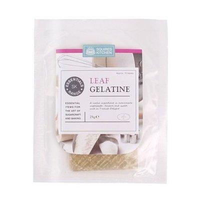 SALE!!! Squires Kitchen -Essentials Leaf Gelatine φύλλα ζελατίνης 10τεμ ΑΝΑΛΩΣΗ ΚΑΤΑ ΠΡΟΤΙΜΗΣΗ 06/2022