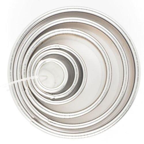 Cookie Cutter Rings set of 6 - Κουπάτ Στρογγυλό/Δαχτυλίδι - σετ 6 τεμαχίων - Ø1, Ø1,4, Ø2, Ø3, Ø4, Ø4,9εκ