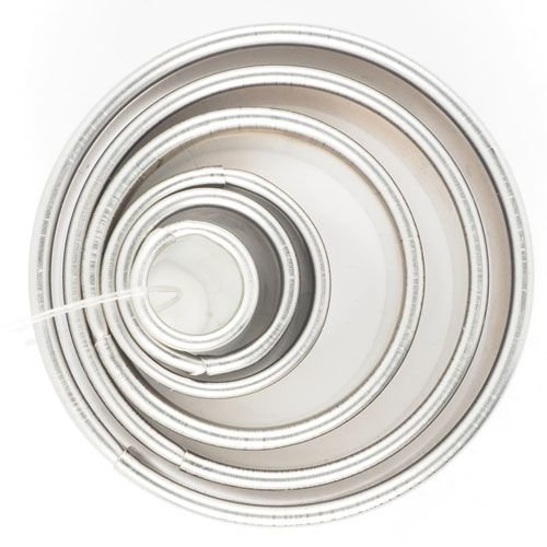 Cookie Cutter -Geometric Set 0f 6 -ROUND RINGS -Κουπάτ Στρογγυλό/Δαχτυλίδι - σετ 6 τεμαχίων