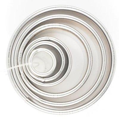 Medium Cutters -Set of 6 -ROUND RINGS -Κουπάτ Στρογγυλό/Δαχτυλίδι - σετ 6 τεμαχίων