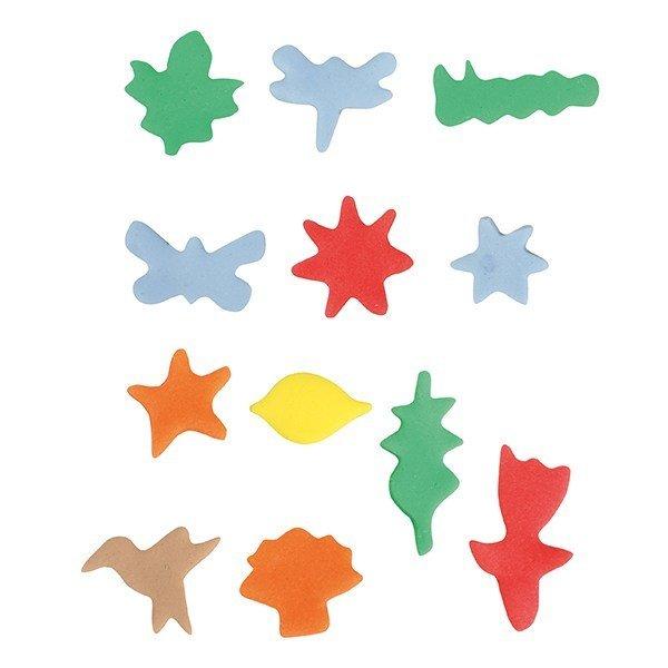Cake Star Mini Metal Cutters -NATURE -Μικρά Μεταλλικά Κουπάτ Φύση 12 τεμ
