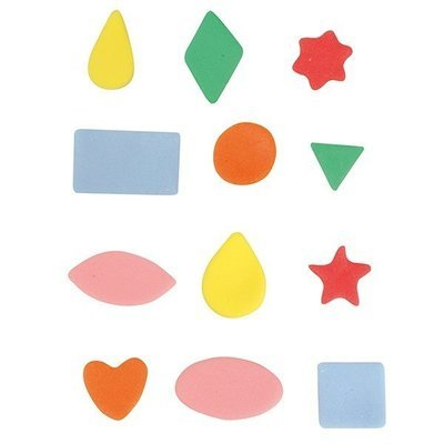 Cake Star - Mini Metal Basic Shapes Cutters 12 pcs -Μικρά Μεταλλικά Κουπάτ Βασικά Σχήματα -12τεμ