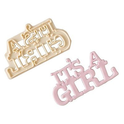 FMM Curved Words Cutter -'It's a Girl!' -Κουπάτ