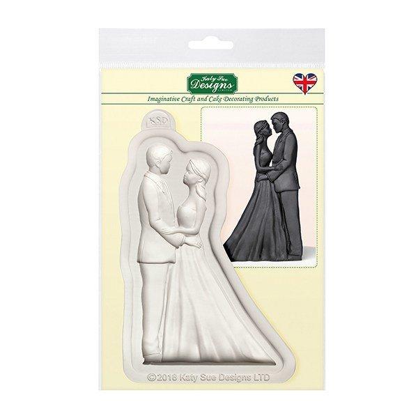 Katy Sue Silicone Mould -THE BRIDE & GROOM -Καλούπι -Ο Γαμπρός & η Νύφη