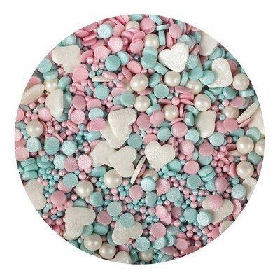 Purple Cupcakes Sprinkle Mix -UNICORN MIX -1 κιλό Ανάμεικτα Κονφετί/Πέρλες Χρώματα Μονόκερου