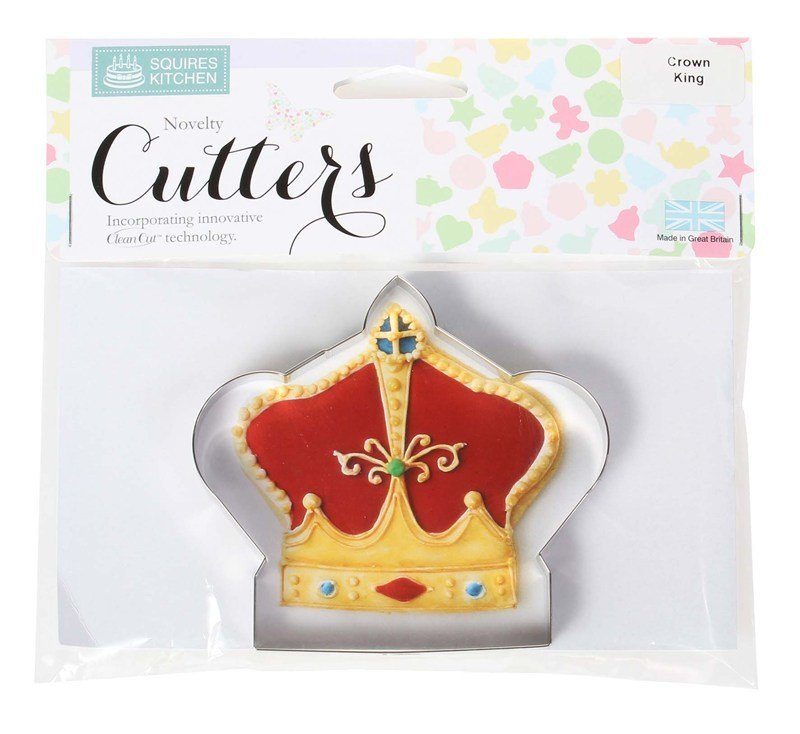 SALE!!! Squires Kitchen Cookie Cutter -King Crown κουπάτ στέμμα βασιλιά 9x10εκ