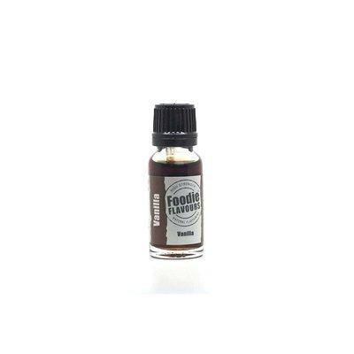 Foodie Flavours - Natural Bake Stable Vanilla Flavouring - Φυσικό Άρωμα με Γεύση Βανίλια - 15ml