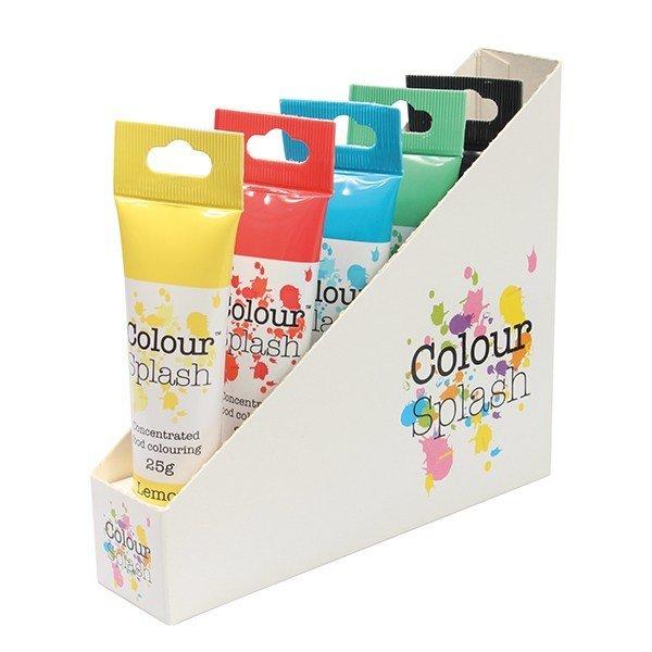 Colour Splash GEL -Set of 5 Primary Colours -Χρώματα Πάστας σετ 5 Χρωμάτων 5x25g
