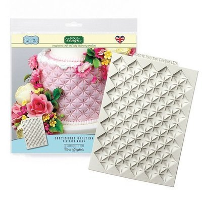 SALE!!! Katy Sue Silicone Embossing Mat by Ceri Griffiths -CONTINUOUS QUITLING MAT -Πατάκι Καπιτονέ
