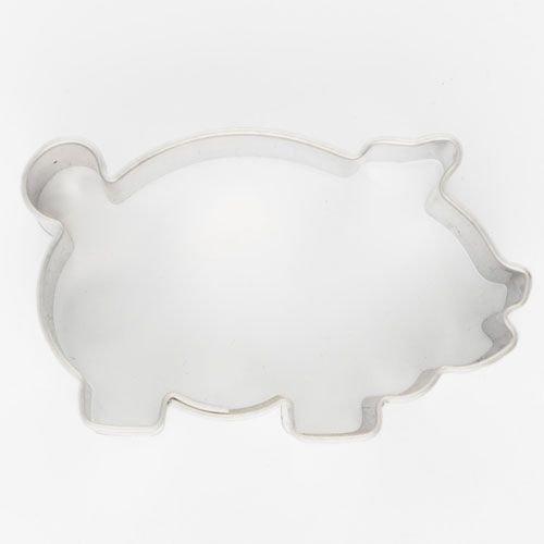 Cookie Cutter Pig 4.5cm - Κουπάτ Γουρουνάκι - 4.5x2.5εκ