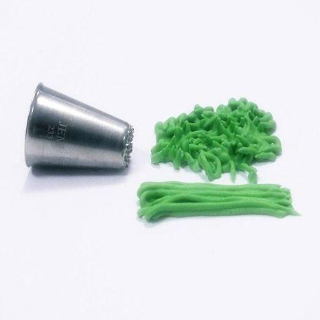 JEM Nozzle Grass/Hair SMALL No.233 -Μύτη Κορνέ Μικρή Χορτάρι/Μαλλιά