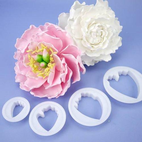 FMM Flower Cutters -PEONY Set of 4