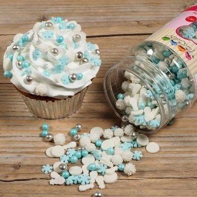 FunCakes Sprinkle Mix 180γρ -FROZEN MEDLEY -Κονφετί Φρόζεν 180γρ