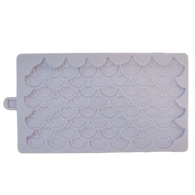 SALE!!! Karen Davies Silicone Mould -MERMAID or DRAGON SCALES -Καλούπι Λέπια Γοργόνας ή Δράκου