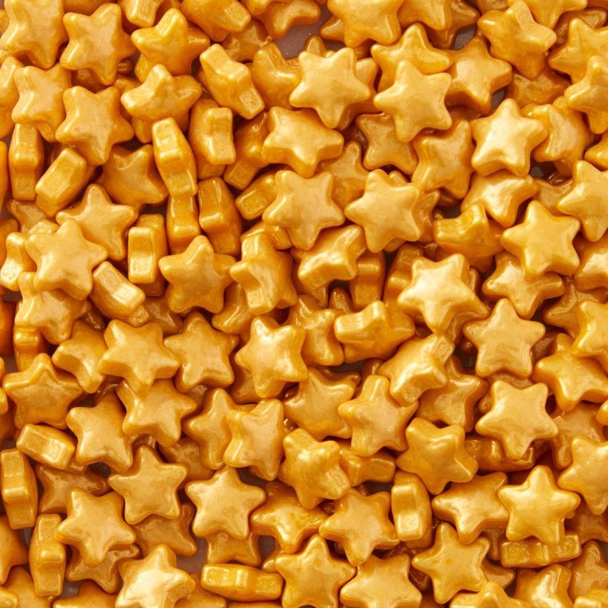 Wilton Sprinkles -Gold Stars 56g