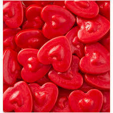 Wilton Sprinkles -JUMBO RED HEARTS 56g - Bρώσιμες μεγάλες κόκκινες καρδιές