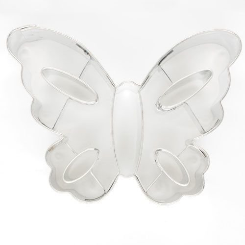 Cookie Cutter Butterfly with Cut-outs 7cm - Κουπάτ Πεταλούδα με Εσωτερικά Σχέδια - 7x5εκ​