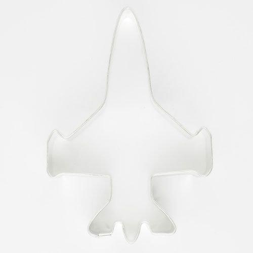 SALE!!! Cookie Cutter Airplane Fighter Jet - Κουπάτ Πολεμικό Αεροπλάνο - 7.5x5.5εκ