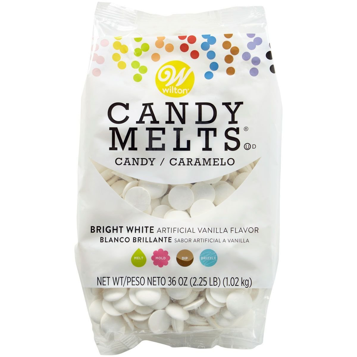 Wilton Candy Melts® -BRIGHT WHITE 1000g