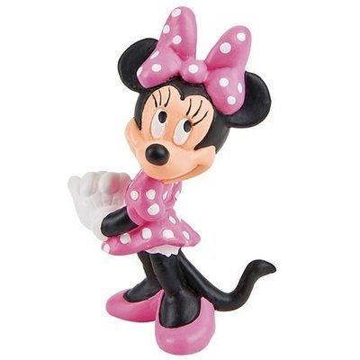 Disney Figure Minnie Mouse - Πλαστική Φιγούρα Ντίσνεϊ - Μίνι Μάους - Περίπου 7εκ