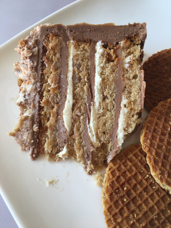 FunCakes Mix for CRUNCHY CARAMEL CAKE 1 kιλό Μείγμα για Κέϊκ Καραμέλας