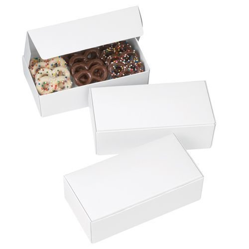 Wilton Chocolate Candy Boxes White pack of 3