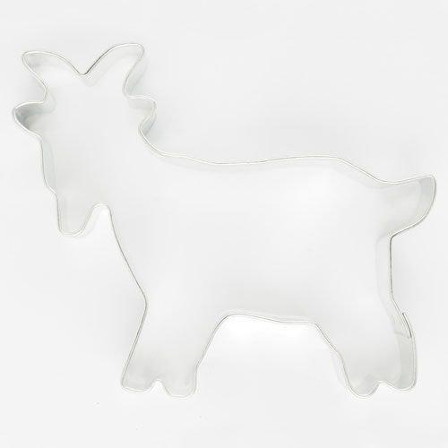 SALE!!! Cookie Cutter Goat 8cm - Κουπάτ Κατσικάκι - 8x6.5εκ