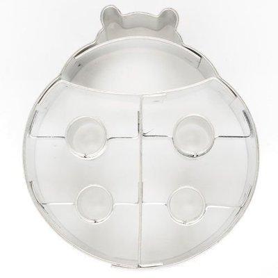 Cookie Cutter Ladybug/Ladybird 6cm - Κουπάτ Πασχαλίτσα - 6x5.5εκ