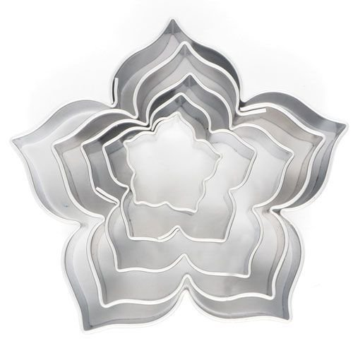 Cookie Cutter Lily set of 5 - Κουπάτ  - σετ 5 τεμαχίων