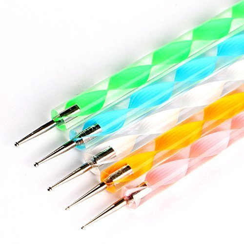 Double Ended Mini Ball Tools Set of 5 - Εργαλείο Σχεδιασμού Διπλής Όψης με Μπάλες στο Τελείωμα