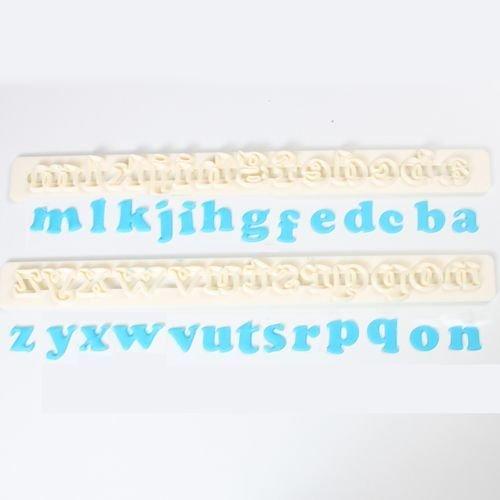 FMM Alphabet Tappit -ART DECO LOWERCASE -Κουπάτ Λατινική Αλφάβητο -Μικρά Γράμματα